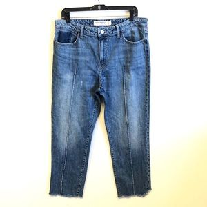 LUCKY REMADE | Medium Wash Cropped Denim Jeans 14